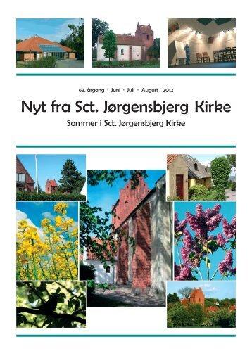 Kirkeblad for juni - juli - august 2012 - Sct. Jørgensbjerg Kirke