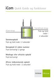 User Guide Quick and Features iCom - Phonak