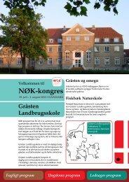 NØK-kongres - Velkommen