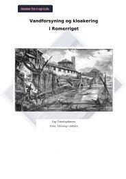 Vandforsyning og kloakering i romerriget