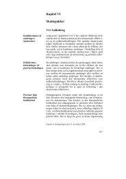Kapitel VI Skattepakker - De Økonomiske Råd