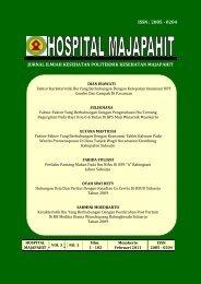Hospital Majapahit vol 3 no 1