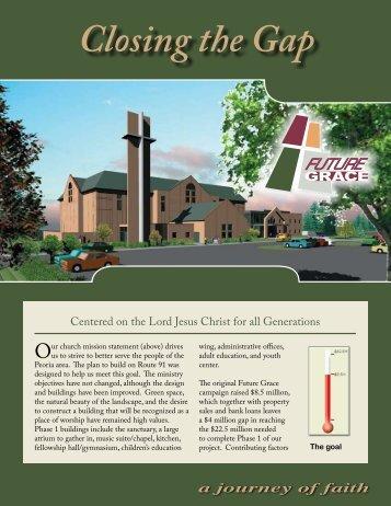 Closing the Gap Brochure - Grace Presbyterian Church