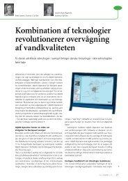 Kombination af teknologier revolutionerer overvågning af ... - Grontmij