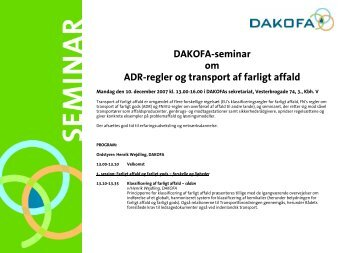 program - Dakofa