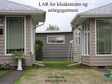 LAR for kloakmestre og anlægsgartnere.pdf - Naturstyrelsen
