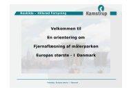 Fjernaflæsningsprojekt i Hillerød og Roskilde