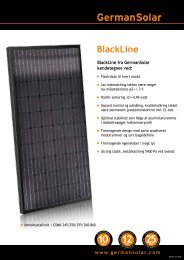 BlackLine - German Solar