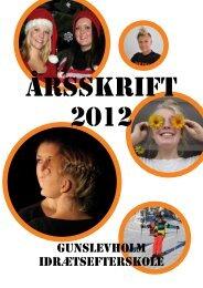 Hent nyhedsbrevet som pdf her - Gunslevholm Idrætsefterskole