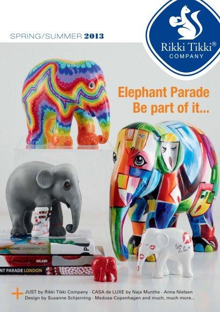 Elephant Parade Be part of it... - Rikki Tikki Company