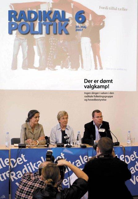 RADIKAL POLITIK 6-2007.indd - Radikale Venstre