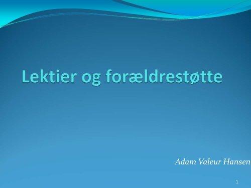Adam Valeur Hansen - Nordby Skole