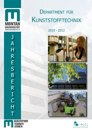 Jahresbericht 2010 - 2012 - Kunststofftechnik