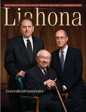 November 2007 Liahona