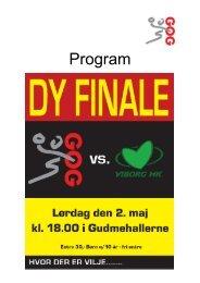 Program - GOGhaandbold.dk