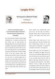 Kierkegaard og Richard Wright - Lyngby Kirke
