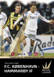 F.C. KØBENHAVN - HAMMARBY IF - Royal League
