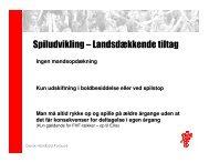 Spiludvikling – Landsdækkende tiltag - Sanderum Håndbold