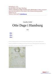 Otte Dage i Hamburg Teksten i bokselskap.no følger Samlede verker
