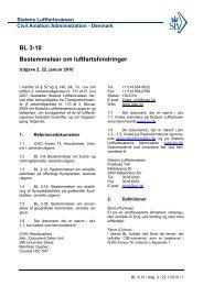 BL 3-10 Bestemmelser om luftfartshindringer