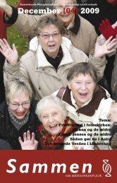 December [04] 2009 - Samvirkende Menighedsplejer