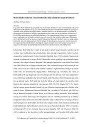 Hizb'allahs råderum i transnationale shia islamiske magtstrukturer
