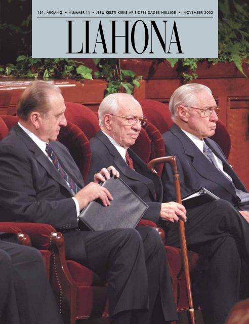 November 2002 Liahona - Jesu Kristi Kirke af Sidste Dages Hellige