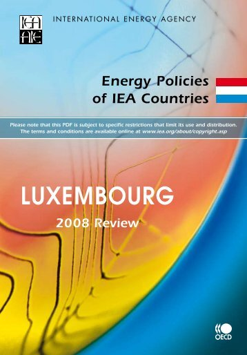 Luxembourg 2008 Review - IEA