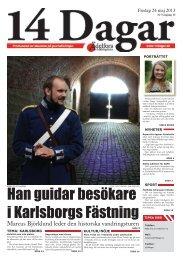 Tema: Karlsborg - 14 dagar