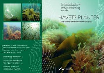 HAVETS PLANTER - Aarhus Universitet