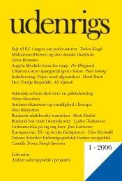 1 · 2006 - Udenrigs