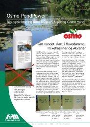 Produktblad (pdf) - OSMO