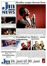 Bradley synger tårerne frem - Jam Days 2013.