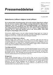 Læs pressemeddelelsen i PDF - Københavns Lufthavne