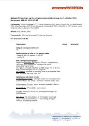 Referat af Frednings- og Bevaringsudvalgsmødet mandag den 4 ...