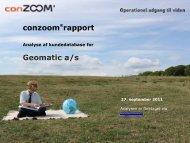Se et eksempel af conzoom®-rapport - FDIH