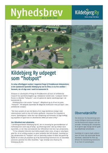 Nyhedsbrev - Kildebjerg Ry A/S