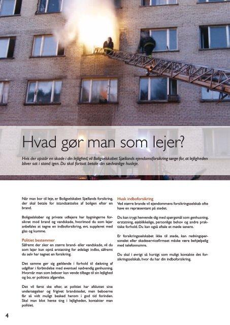 Efter branden - Boligselskabet Sjælland