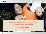 ProInvestor Biotek Seminar