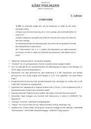 5. lektion (underslæb m.v.) - advokatfirmaet kåre pihlmann