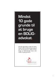 Mindst 10 gode grunde til at bruge en BOLIG - Danske Advokater