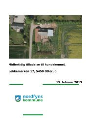 Tilladelse til hundekennel - Nordfyns Kommune