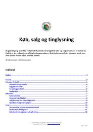 Køb, salg og tinglysning vedr. ejendomme - Danske Torpare