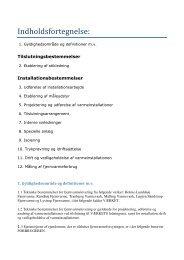 Gældende tekniske bestemmelser - Løgten-Skødstrup Fjernvarme