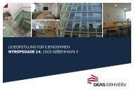 LejeopstiLLing for ejendommen Nyropsgade 14 ... - DEAS Erhverv