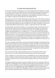 Formandens beretning for 2011-2012 - Sct. Georgs Fonden