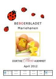 BEBOERBLADET Mariehønen - Mariehjemmene