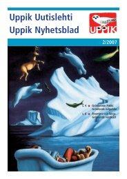 Uppik Uutislehti Uppik Nyhetsblad 2/2007 - Tjaldur