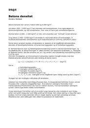 Betons densitet - Materials.dk