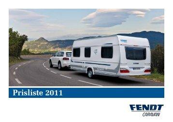 Fendt 2011 - Prisliste - Campingferie.dk